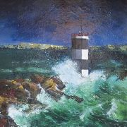 Stormy Seas off Rathlin