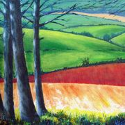 Art 'The Red Field'