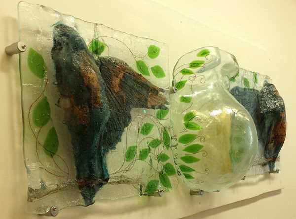 Nice Slumped Glass Wall Art Pattern - Wall Art Design ...