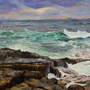 Art 'Waves At Creevy 2'