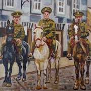 3 of Ulster's Sons, Riding into Town, (Lisburn)