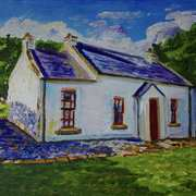 Callaghan's Cottage in the Mournes.