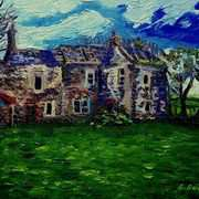 Clovervale, Deserted Farmhouse, Townland of Ballypriormore, Islandmagee, County Antrim.
