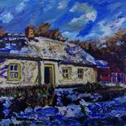 Corradreenan farmhouse in Snow, Cultra, County Down