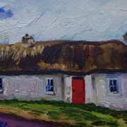 Cottage on Sallon Road, Relagh Guinness, Irvinestown, with consent from the UAHS