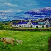 Cottages and Farm Buildings on the Road to Ballycastle, County Antrim