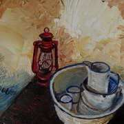 Deirdre's Accidental Still Life Cottage Interior Townland of Ballymoney Islandmagee County Antrim