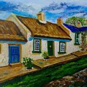 Denmark Cottage, Ballyharry, (childhood home of Valerie Stewart, nee Clugston)