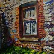 Deserted Farmhouse Window, Glencloy, County Antrim