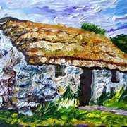 Duncrun Cottier's House, Ulster Folk Museum