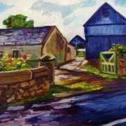Farm at Carnduff Townland near Glynn, Larne, County Antrim.