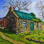 Farm Cottage in the Townland of Loughloughlan, Broughshane, County Antrim