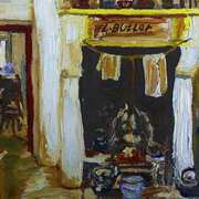 Fireside, Ballyveaghmore Farmhouse