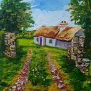Kearney's Cottage on Fanad, Donegal