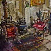 Kitchen Fireside, Drumnahunshin Farmhouse, Cultra