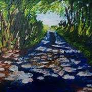 Lane at Ballymuldrogh, Islandmagee, County Antrim
