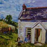 My Seventeenth Summer, Cottages at Ballymoney, Islandmagee, County Antrim.