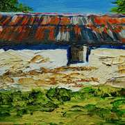 Old Barn on the Ballytober Road, Islandmagee, County Antrim