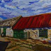 Old Farm Buildings near Portaferry, Ards Peninsula, County Down