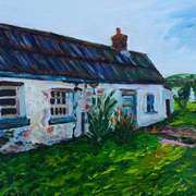 Parkmount Cottage, (the place where my grandfather died), Ballyharry Clachan, Islandmagee, County Antrim.