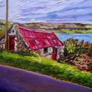Red Roofed Cottage, Straidkilly, Carnlough, Antrim Coast