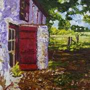 September Sunlight at Bellair Farmhouse, Glenarm, Co.Antrim.