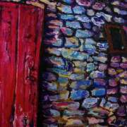 The Red Door One-roomed Cottage Cultra County Down.