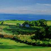 Art 'View Over Balloo from Ballymuldrogh, Islandmagee, County Antrim'
