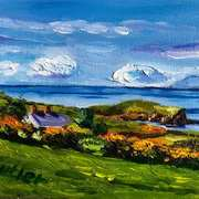 Art 'View Towards Mull of Kintyre, Ballymoney Townland, Islandmagee, County Antrim'