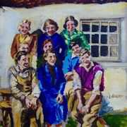 War Time Salad Days, at Denmark Cottages, Ballyharry, Islandmagee, County Antrim