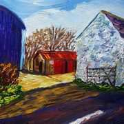 Winter Morning Farm on the Portmuck Road Islandmagee County Antrim