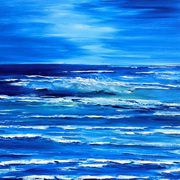 Irish Art, Rolling Blue,