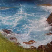 Irish Art, Cliff Walk,