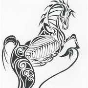 Filigree Horse