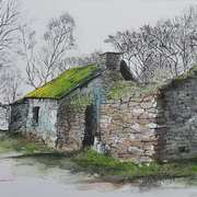 Art 'OLD SHED'
