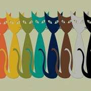 mid-mod Cats