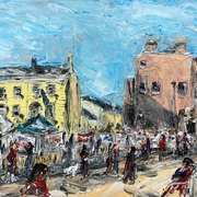 Painters at Peoples Park,Dun Laoghaire,Co.Dublin