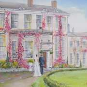 'Wedding Day Castle Durrow'