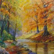 Autumn on River Suck