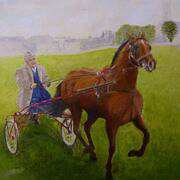Irish Art, A Balinasloe Trotter,