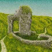 St Declans Well Ardmore,Irish castles