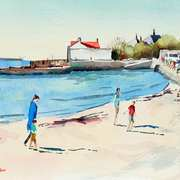 Sandycove in Summer with Family