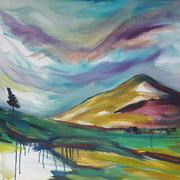Art 'The Lone Tree and The Sugarloaf'
