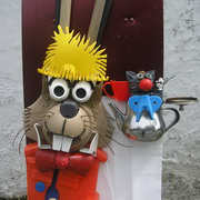 THE MARCH HARE AND DORMOUSE