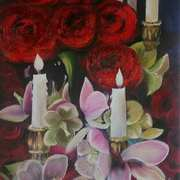 Candlelight and Roses