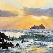 Skelligs in Golden light