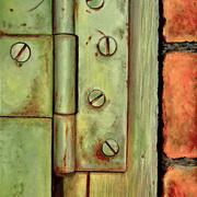 Rusty Green Hinge