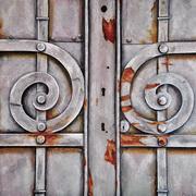 Rusty Swirls