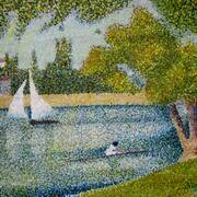 The Seine at La Grande Jatte (Seurat revisited)