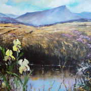 Muckish Co. Donegal 30x30 Acrylic on canvas